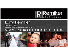 Logo and Business Card for Remiker Photo