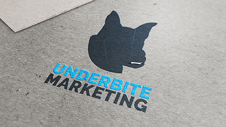 Logo for Underbite Marketing