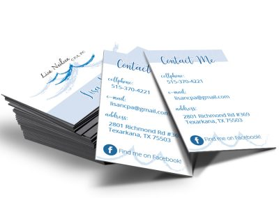 Business Card for CPA