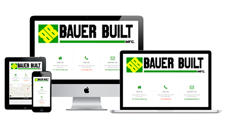 Landing Page for Bauer Built