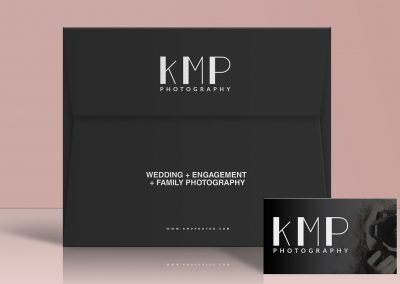 KMP PHOTOGRAPHY – BRANDING AND WEBSITE