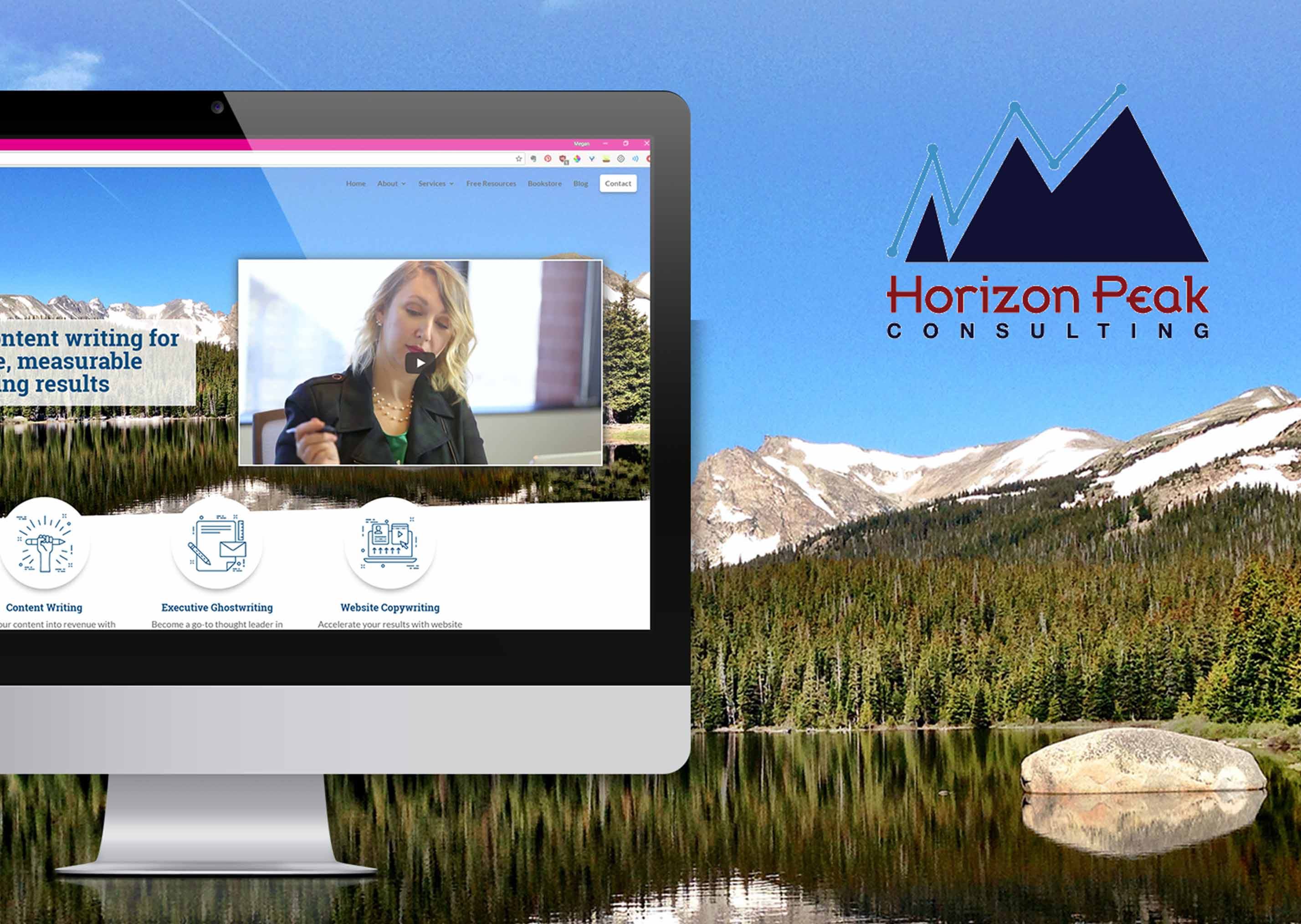 Horizon Peak Consulting Website Design
