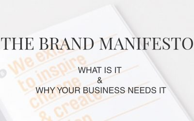 The Brand Manifesto: What is it and why your business needs it