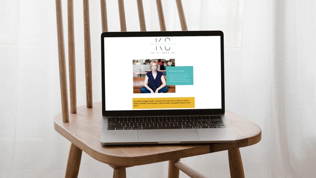 Brand Strategy and Visual Branding for Kristiina Craven – Marketing Strategist